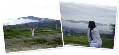 View indahnya desa kami